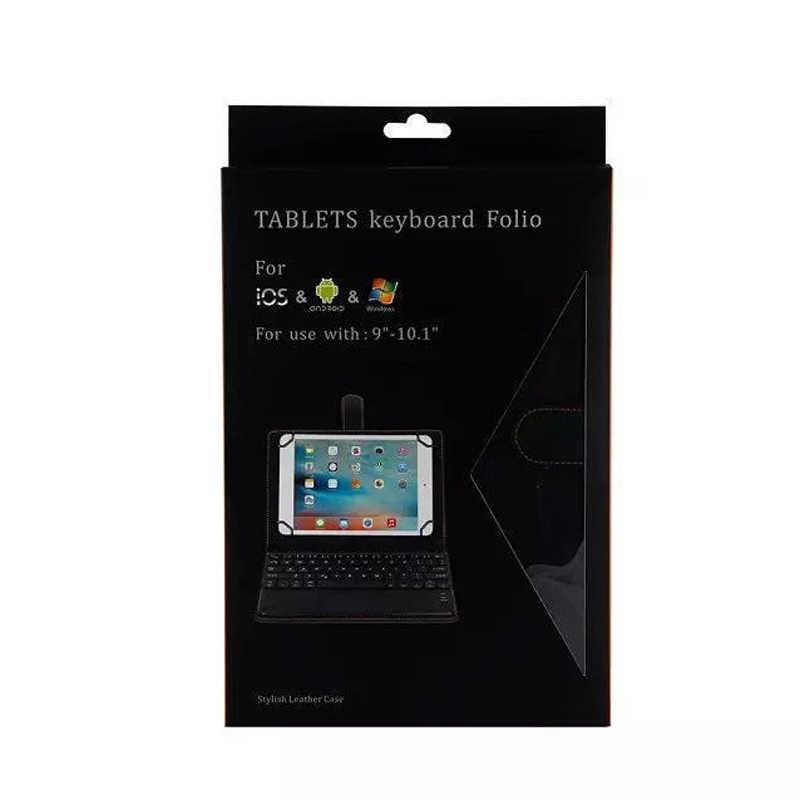 Kablosuz Çıkarılabilir Bluetooth Klavye Kılıf Kapak Dokunmatik hp reklam Için hp Slate 10 HD 3500 3600 ElitePad 900 G1 1000 g3 iRulu X1 Pro 10.1