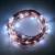 10 M de Hadas Accionadas Solares Lámparas con 100 LEDs de Alambre de Cobre Fuentes del partido LED Luces de Cadena para la Casa de La Calle Jardín Patio decoración
