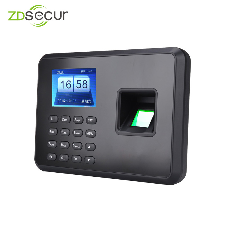 US $29 0 |1000 User Cheap Price Fingerprint Time Attendance Machine No Need  Software ZDA2-in Time Recording from Computer & Office on Aliexpress com |