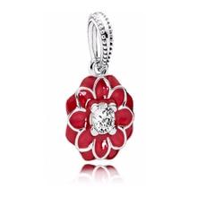 SHINETUNG 1:1 S925 Sterling Silver PAN Pendants Oriental Bloom Fit Womens Original Jewelry
