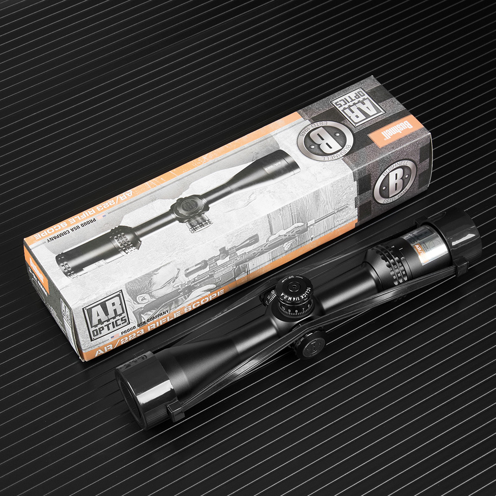 BUSHNELL 3 9X40 AR Optics Drop Zone 223 Reticle Tactical Riflescope With Target Turrets Hunting Scopes