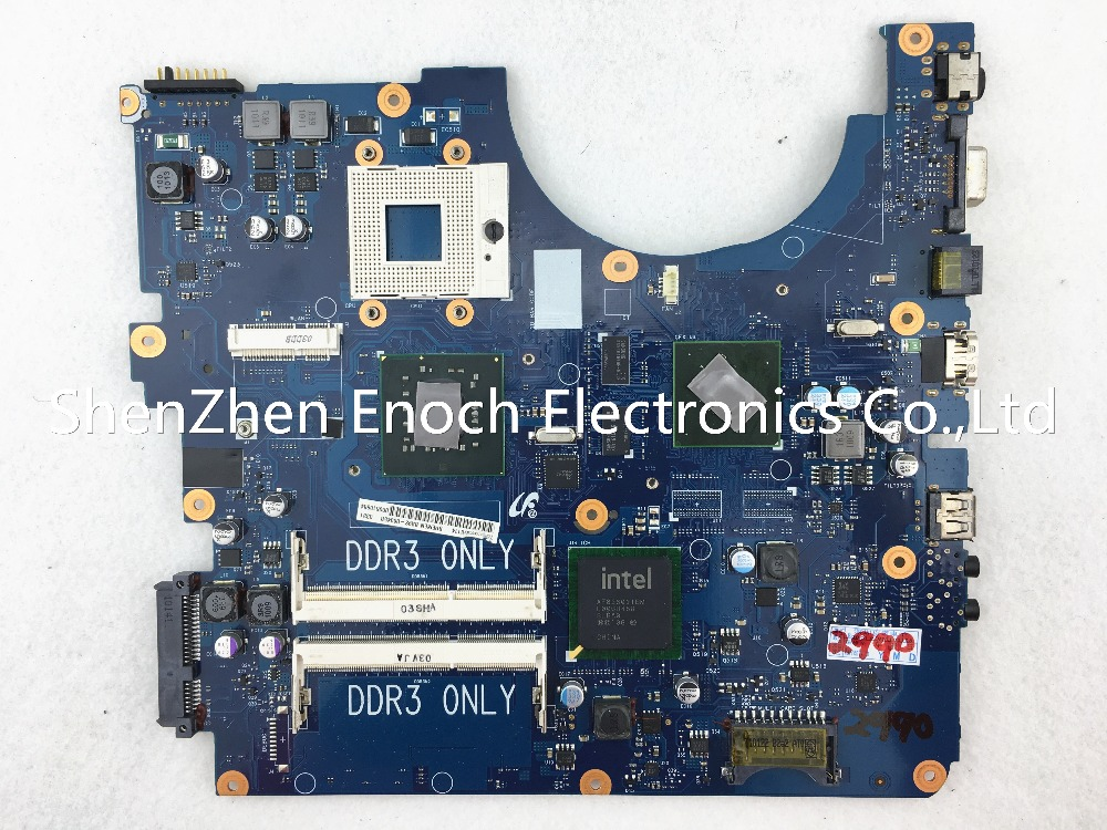 BA92-06345A BA92-06345B for Samsung R530 laptop motherboard with nvidia graphics BREMEN-L3 PM45 stock No.015