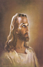 Christian Wall Art Vintage Jesus Christ Portrait