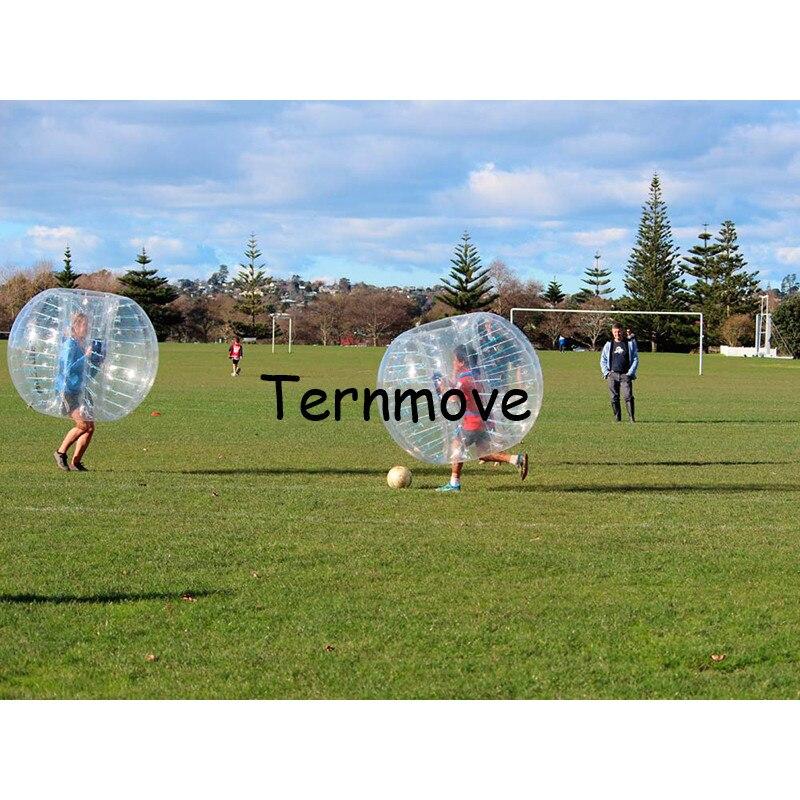 Пузырь бампер костюм, надувной амортизатор для человека пузырь мяч, открытый весело спорт воздушный пузырь детей играть в игру, бампер мяч д
