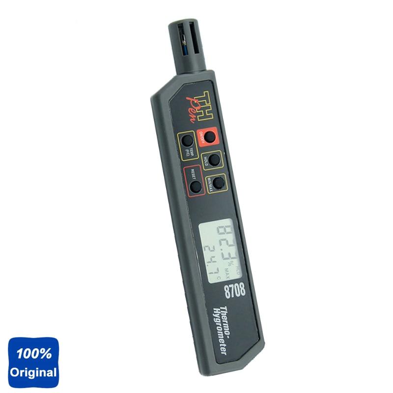 Simultaneously Display Temperature Humidity Tester Pen Hygro-thermometer AZ-8709 az 8708 pen type hygro thermometer temperature and humidity tester