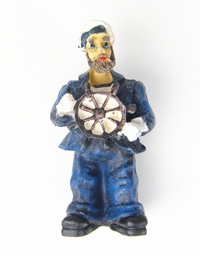 High Quality Handmade Painted Pirate Captain Resin Crafts Creative Home Decortion Gift World Tourism Souvenir Collection