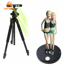 MINGDA High Resolution 3D Scanner with Turntable High Precision Body Scanner for Objects Human Face for 3D Photo Studio