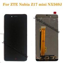100% original test For ZTE Nubia Z17 mini z17 mini NX569J NX569H display+touch screen digitizer components replaceable parts картаев павел zte nubia z17 mini домен ru отмечает день рождения