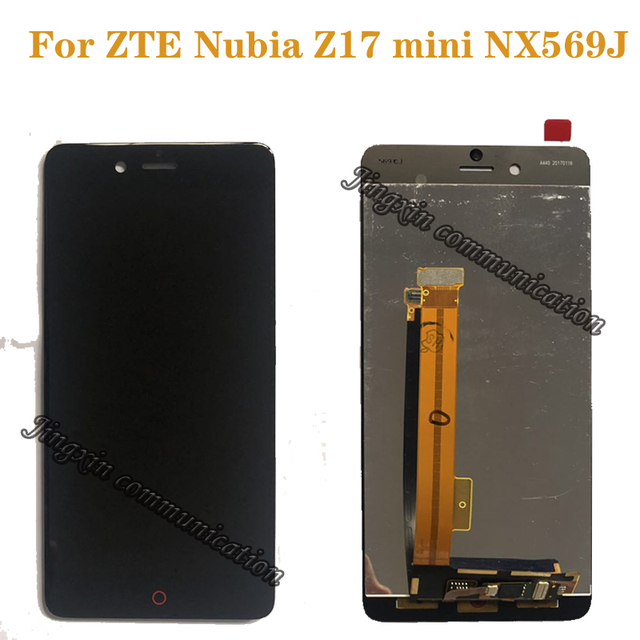 Новый ЖК дисплей для ZTE Nubia Z17 mini NX569J NX569H, ЖК дисплей + кодирующий преобразователь сенсорного экрана в сборе для nubia z17mini, запчасти для ЖК дисплея