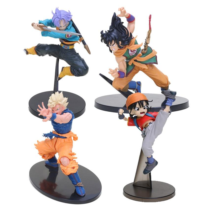 Anime Dragon Ball Z Scultures BIG TRUNKS Tenkaichi Budokai 4 Figures Collect Toy