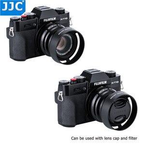 Image 5 - JJC Bayonet 라운드 카메라 렌즈 후드 43mm 스레드 크기는 FUJINON 렌즈 XF35mm/25mm F2 R WR 용 Fujifilm LH XF35 2 대체합니다.