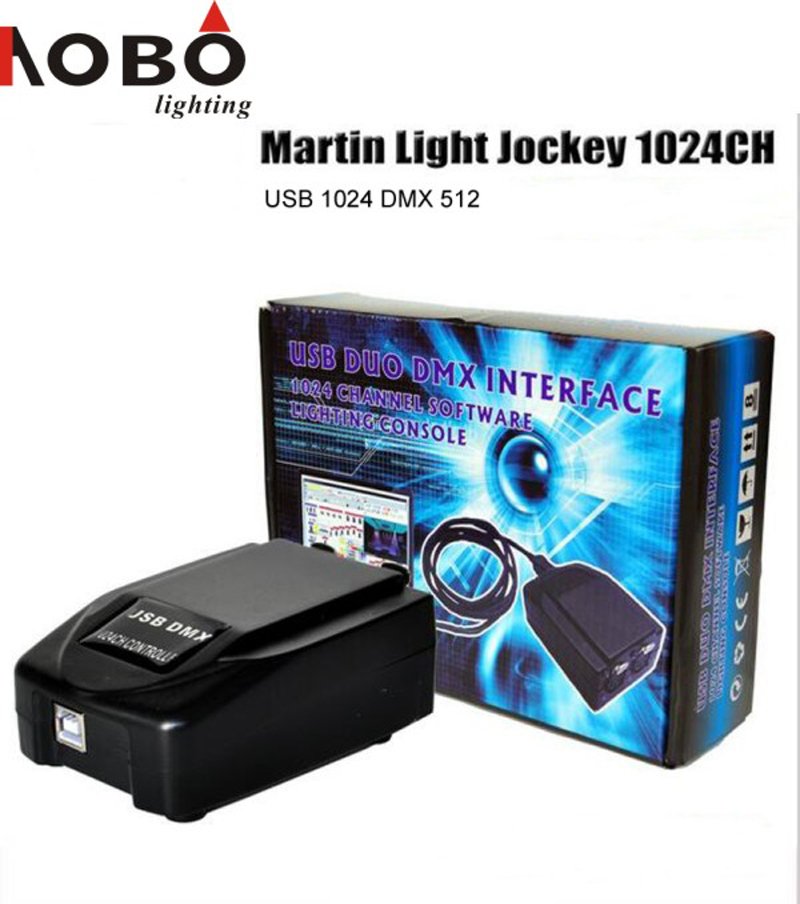 Martin Light jockey USB 1024 DMX 512 DJ Controller for Led Stage Light Moving head lights Disco Party Event show Lighting