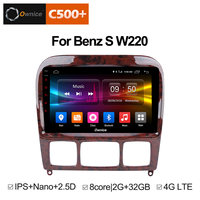 Ownice C500 + G10 Android 8,1 для Mercedes Benz/S280/S320/S350/S400/S500/W220/W215/C S класса 2din dvd плеер автомобиля радио gps стерео