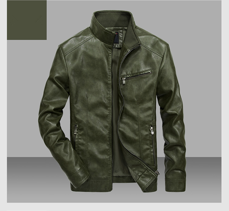 HTB1l68VKeuSBuNjSsplq6ze8pXaZ DAVYDAISY 2019 High Quality PU Leather Jackets Men Autumn Solid Stand Collar Fashion Men Jacket Jaqueta Masculina 5XL DCT-245