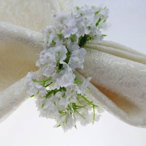 Low price for silk flower napkin rings quaeas artificial napkin ring silk flower napkin holder mightylinksfo