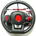 27MHZ Dynamic Steering Wheel Remote Control Parts Use Remote Control Toys for Children Radiocontrol Toys And Children's Products