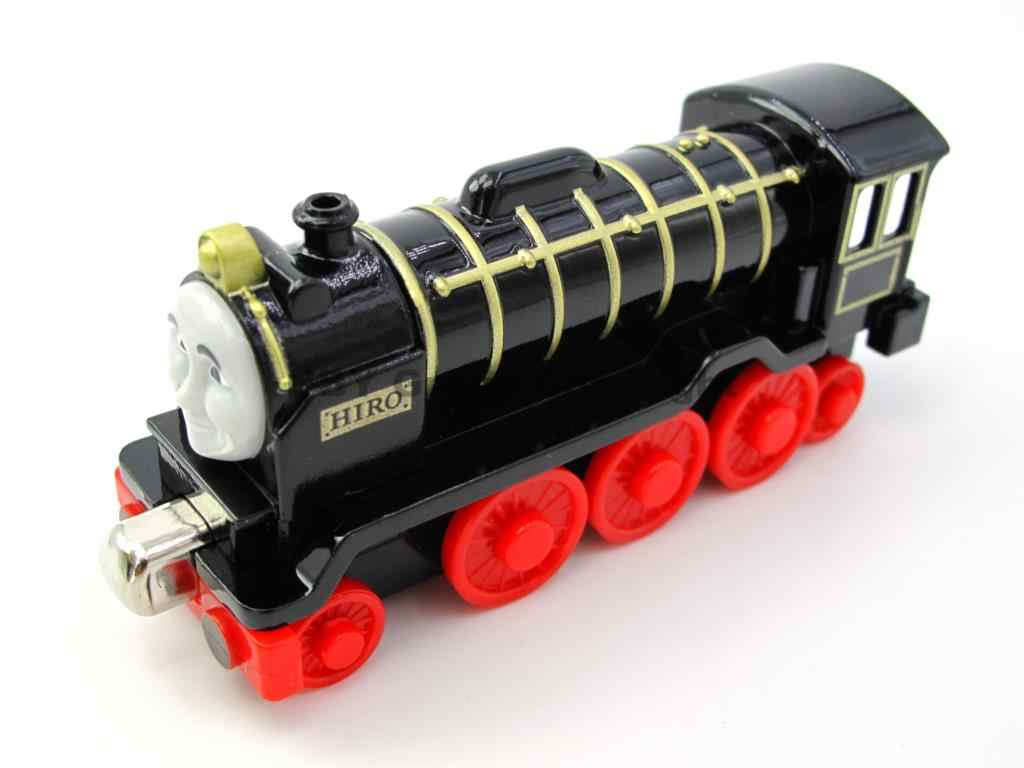 Diecast toy Vehicles Train HIRO Fit For BRIO Toy Car T070D Truck Locomotive Engine Railway Toys for Children