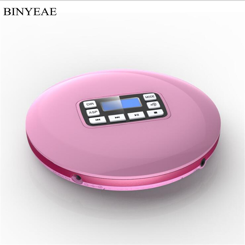2018 Real Sale Cd Speler Binyeae Students With Cd Player Learning English Prenatal Care Bluetooth Fever Walkman Portable Stereo high school students english learning anxiety and achievement