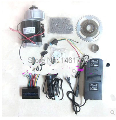 MY1020Z 450 Вт 36 В щеткой передач замедление двигателя DIY электрический велосипед комплект,электрический велосипед комплект