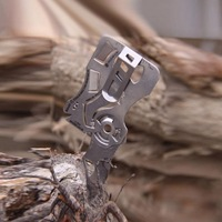 Outdoor Multi Function Edc Tools Wallet Card Knife Credit Card Convenient Tool Stainless Steel Pocket Knife