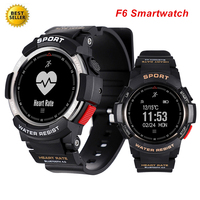 F6 Sport Smartwatch Waterproof Bluetooth 4.0 Heart Rate Measure Pedometer Fitness Tracker Smart Watch For iOS Android Saatler