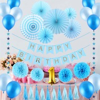 31 Pcs Set Decoration Mariage Tissue Paper Party Decor Craft For Bar Birthday Party Wedding Decoration