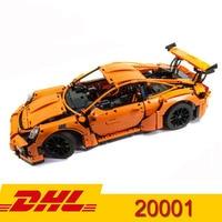 Lepining Technic series Super Car Bugatti chiron Mustang GT 911 Model 20086 20001 24017 Building Blocks Toy
