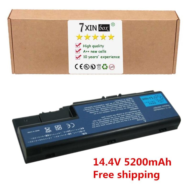 все цены на  5200mah 14.4V AS07B42 laptop battery for Acer Aspire 5220 5310 5320 5520 5710 5720 5720z 5910 AS07B31 AS07B41 AS07B51 AS07B71  онлайн