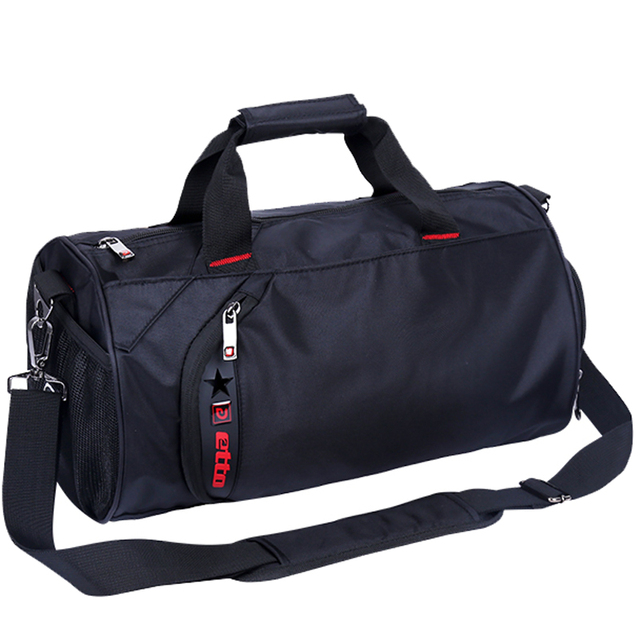 Men Bag With Shoes Compartment Large Capacity Travel Duffel For And Women Waterproof Nylon