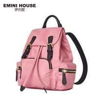 EMINI HOUSE Multifunction Nylon Women Backpack School Bags For Teenagers Women Travel Bag Waterproof Casual Backpack