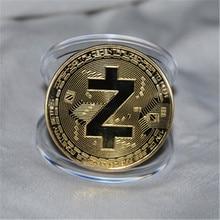 Горячая, 1 шт., Z монета Zero монета Биткоин памятная копия коллекции Memorial Zero Биткоин монета, художественные подарки