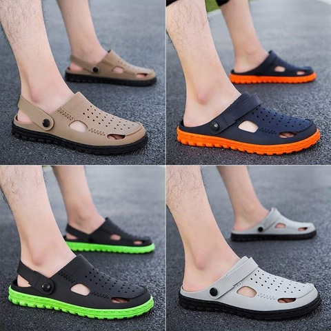 Summer Medical Doctor Shoes Men Hole High Quality Sandals Slippers Surgical Lab Scrub Waterproof Non-slip Breathable Work Spa Lahore