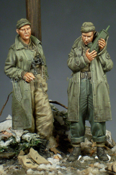 pre order-Resin toys 35095 WW2 US Army Officer Set (2 Figures) Free shipping