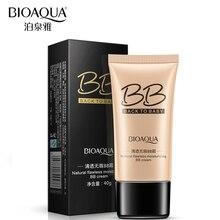 BIOAQUA Brand Natural BB Cream Makeup Brighten Concealer Oil control Refreshing Segregation Base Cosmetics 3 Colors