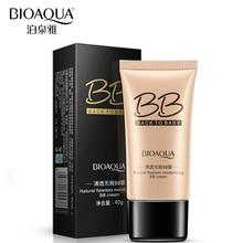 Bioaqua абсолютно натуральный безупречный BB крем Макияж ярче Корректоры для лица масло-контроль освежающий сегрегацию База Косметика 3 цвета