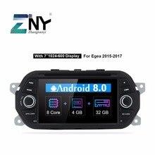 """Android 8,0 coche DVD Stereo 7 """"IPS Auto Radio para Fiat Tipo Egea 2015 de 2016, 2017 navegación GPS Multimidea unidad de regalo Cámara"""
