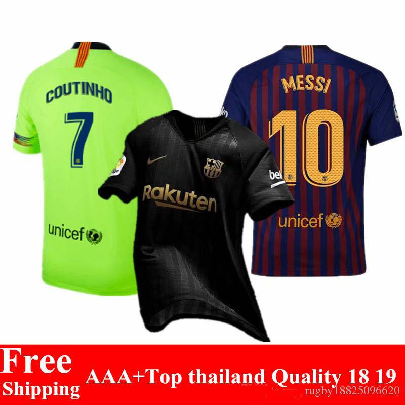 34280edefda 2019 Barcelonaing adult T shirt AAA+ 2018 2019 football jerseys quality man  Home red Away soccer Shirts Free shipping-in Soccer Jerseys from Sports ...