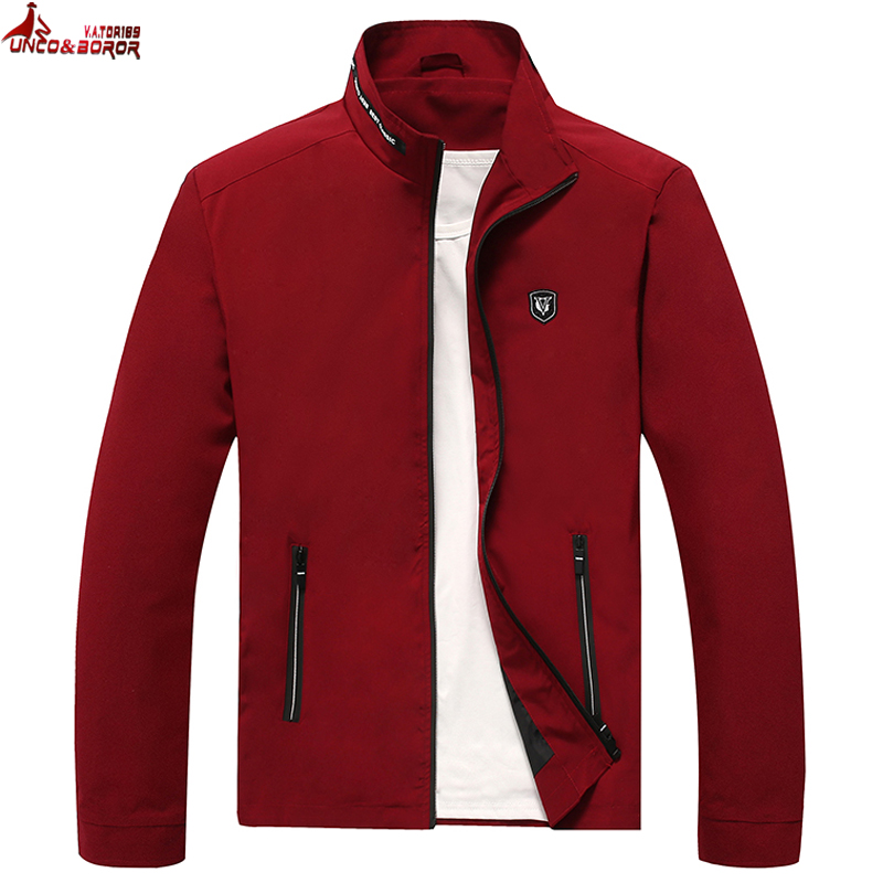 New Casual Men`s Bomber Jacket Spring Autumn Outerwear Mandarin Sportswear Male Thin Jacket Fitness For Men Jackets And Coats