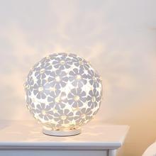 Современные хрустальные настольные лампы для спальни, гостиной, кабинета, офиса, современные хрустальные Серебристые настольные лампы