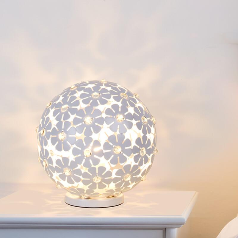 Modern Crystal Table Lamps For Bedroom Living Room Study Office
