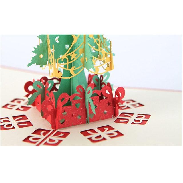 Online shop ynaayu 1pcs 3d merry christmas greeting cards handmade ynaayu 1pcs 3d merry christmas greeting cards handmade design christmas tree card wedding bithday card party supplies m4hsunfo