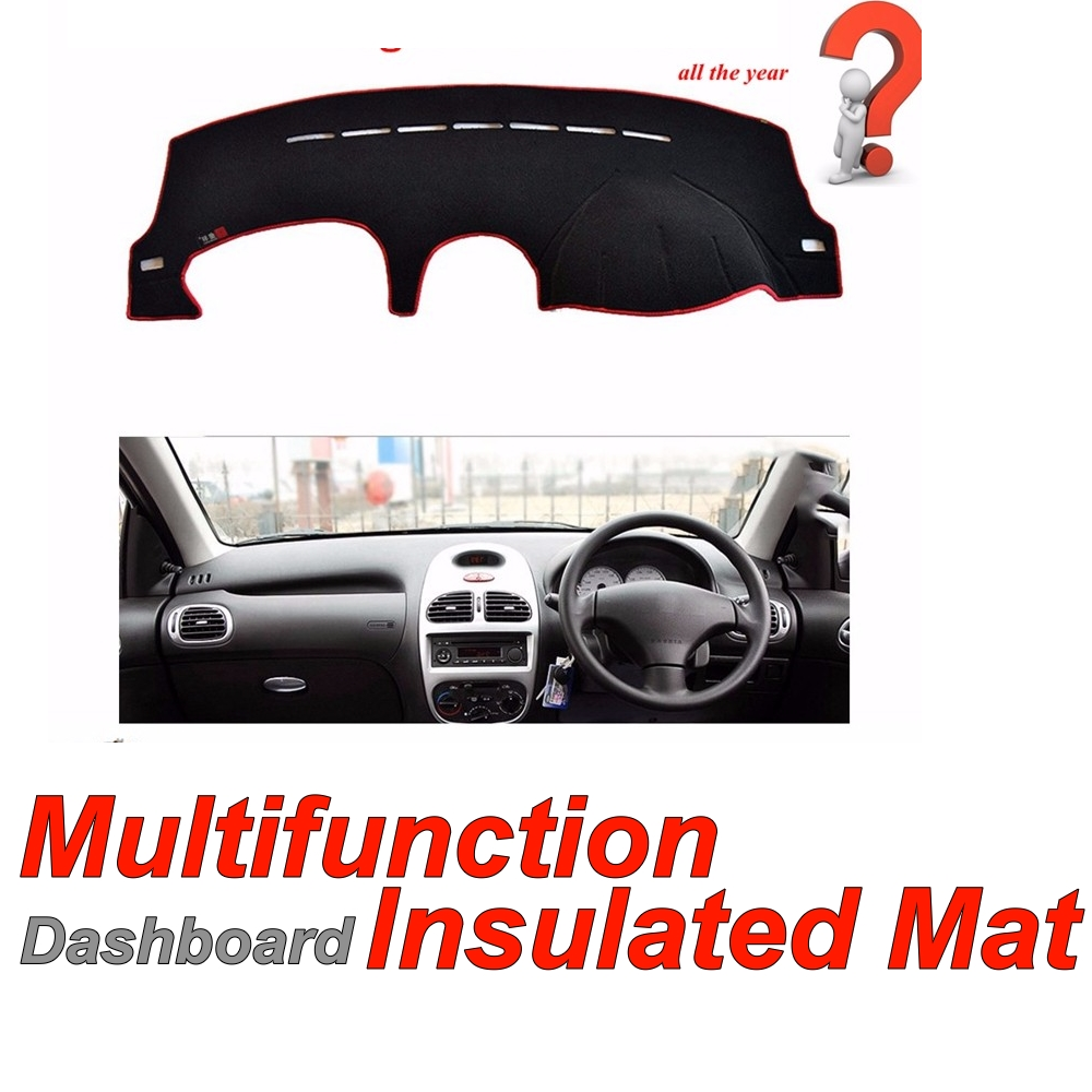Dashboard Mat Original Factory Shape pad Protection Cover Carpet Dashmat Special Model For Peugeot 206 206CC