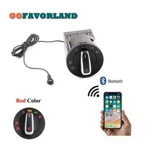 AUTO Headlight HeadLamp Switch Light Sensor Module Bluetooth Upgrade For VW Golf MK4 Jetta 4 Passat B5 Polo Bettle(China)