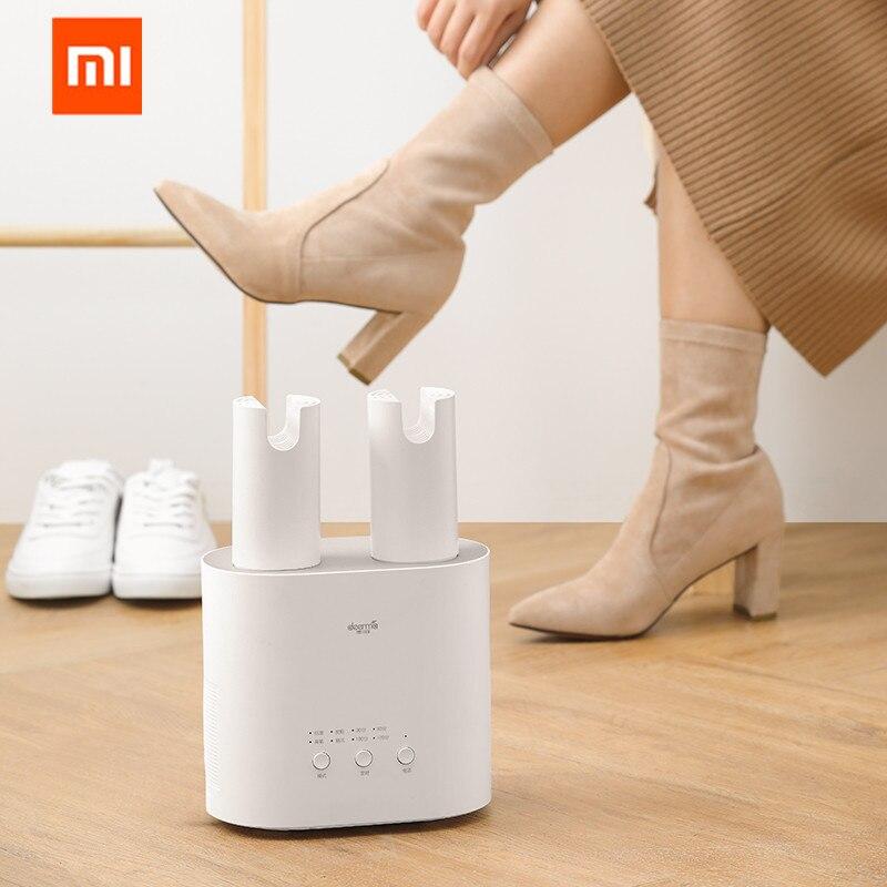 Original XIAOMI MIjia Deerma HX10 Intelligent Multi-Function Retractable Shoe Dryer Multi-effect Sterilization U-shape Air Out