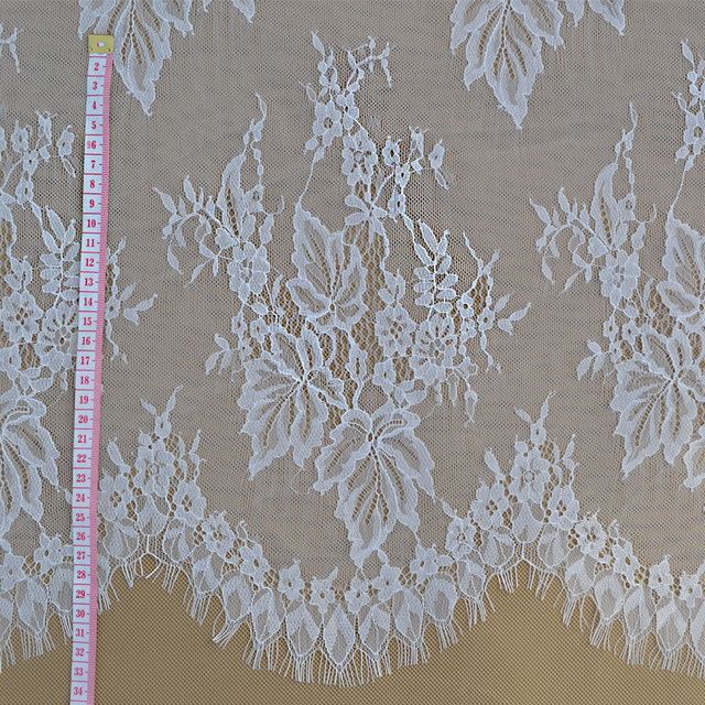 Italian Exports Of High End Eyelash Lace Fabric Suitable For Dress Clothing  DIY Wedding Dress