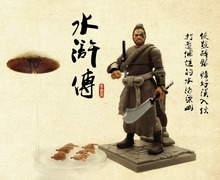 цены NEW 2019 Water Margin 3.75''  action figure Yang Zhi a birthday present collection model chinese figure Free shipping