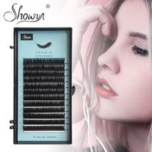 Individual Eyelash Extension Faux Mink Eyelashes Russian Volume False Mixed Length Premium Lashes Extensions