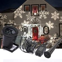 Snowflake Christmas Laser Projector Light Outdoor waterproof Landscape Lighting  Garden Party Decoration