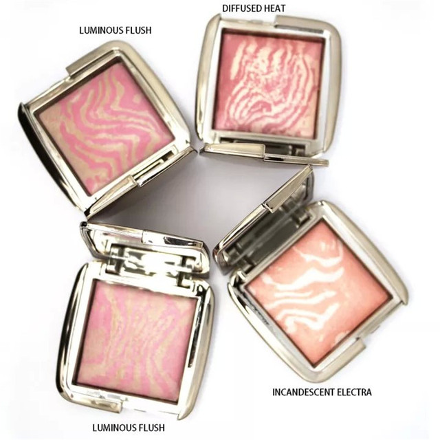 24Pcs/Lot Hourglass Ambient Lighting Blushes Makeup DIM INFUSION / DIFFUSED  HEAT / INCANDESCENT ELECTRA