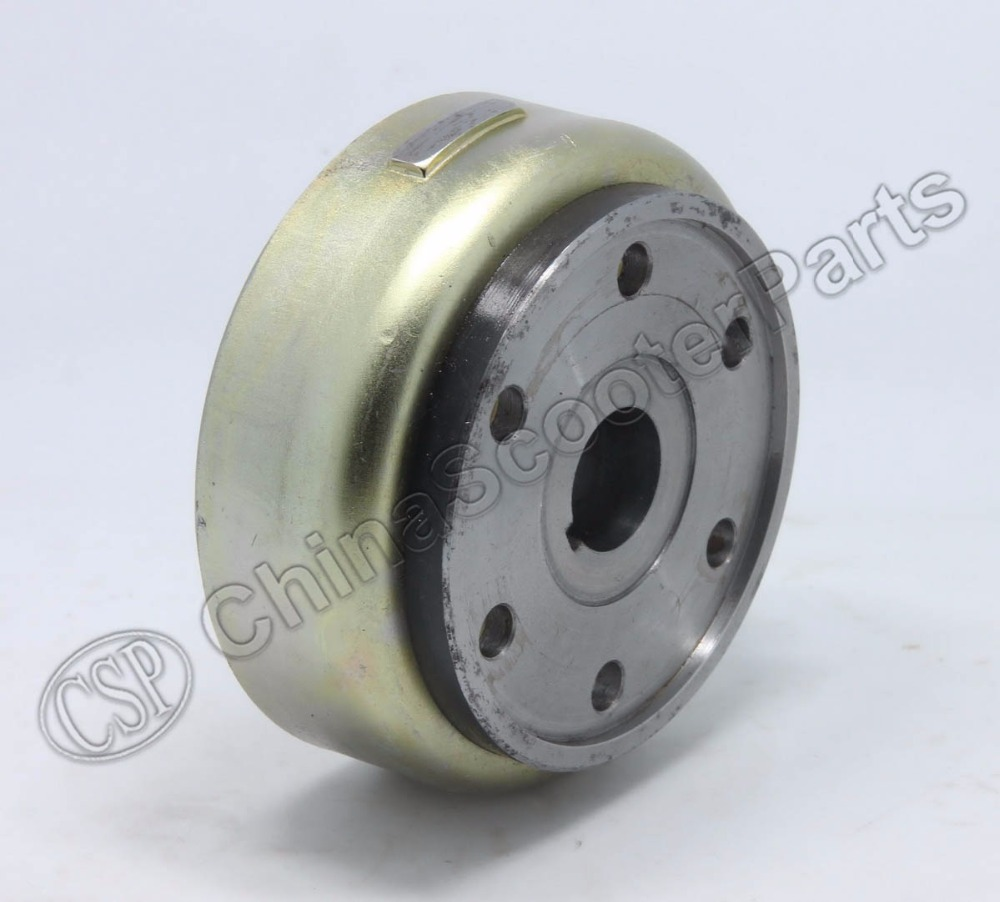 hight resolution of linhai buyang majesty yp250 250 260 300 atv quad flywheel rotor assy magneto coil cover 95mm